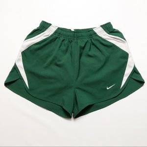 Women's Nike Fit Dry Team Sports Shorts Green SZ S